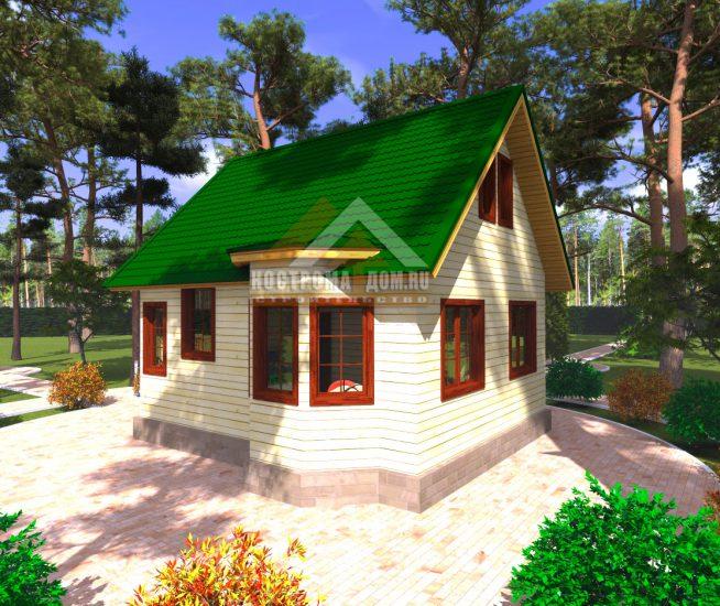 Отделка деревянного дома видео