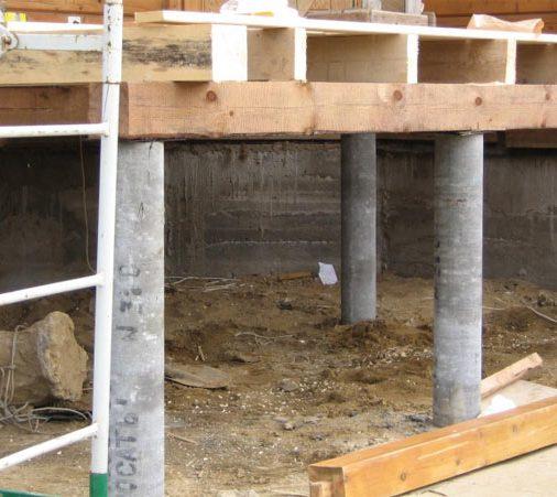 Устройство фундаментов из монолитного бетона Одинцовский район