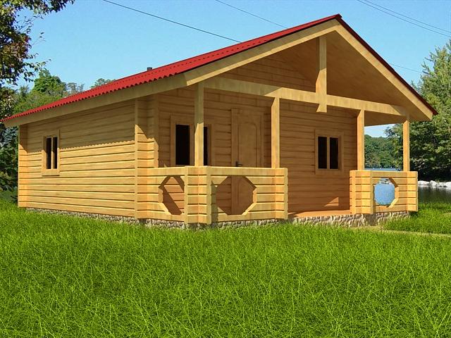 Строительство домов из профилированного бруса своими руками