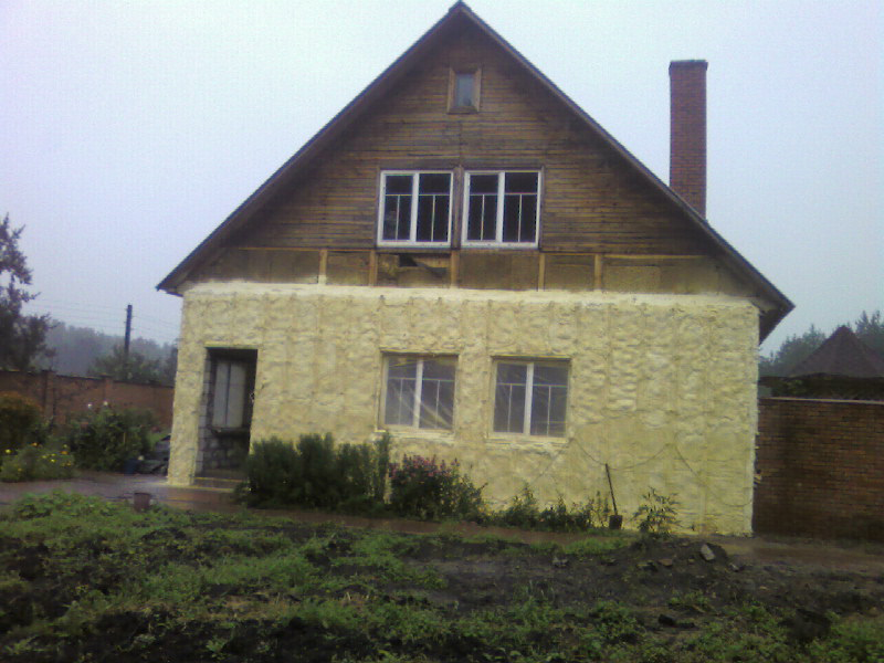 Утепление стен дома внутри 4
