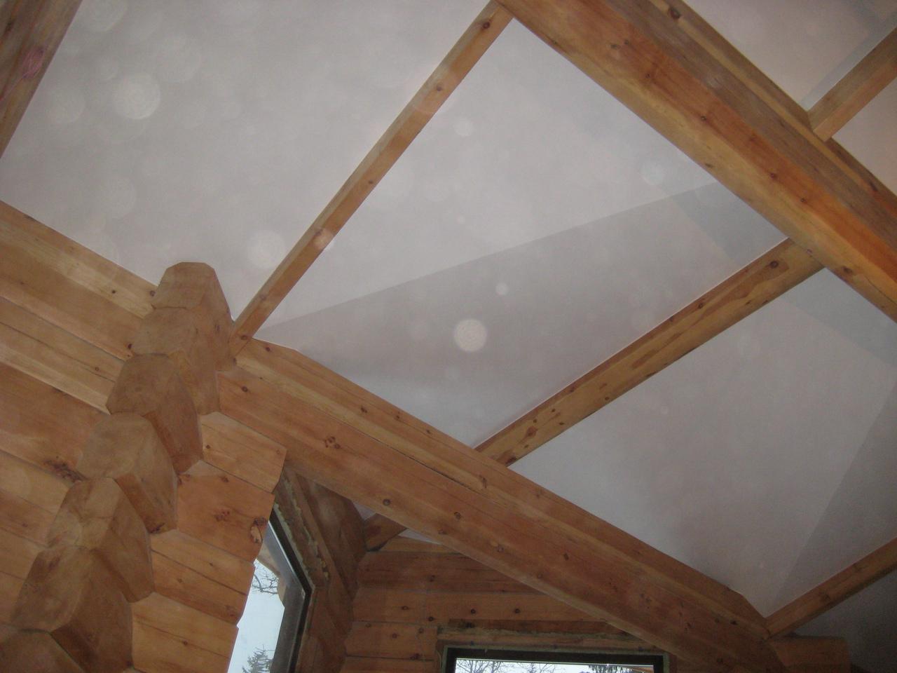 Как сделать потолок из евровагонки? Конструкция 99