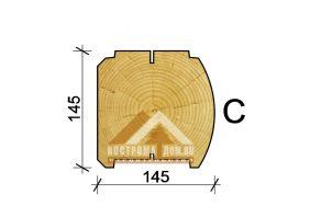 145х145(h) mm