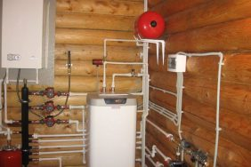 Отопление деревянного дома.