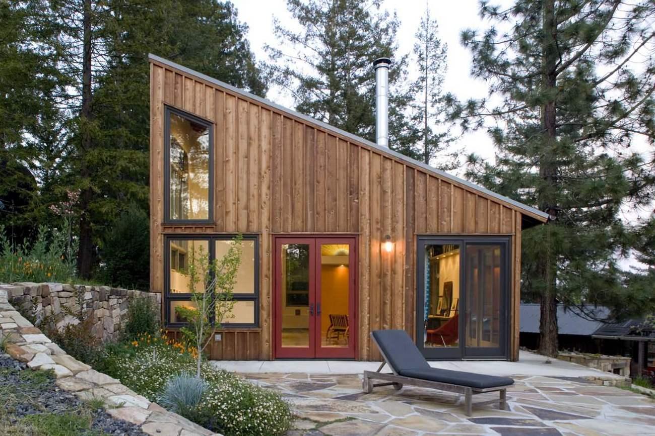 Каркасный дом с плоской крышей своими руками пошаговая инструкция