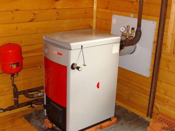 Котёл для отопления частного дома на дровах